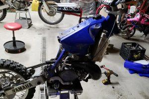 Blue-White Dirt Bike1